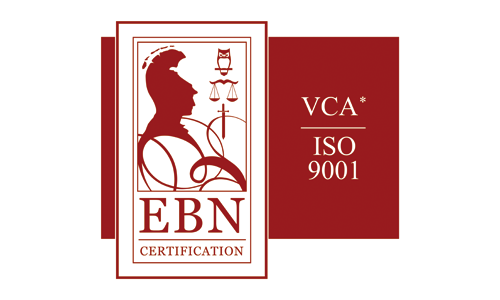 EBN certification - ISO 9001